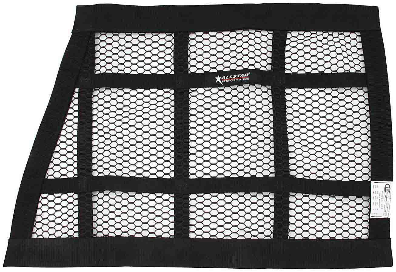 Allstar Performance Mesh Window Net Black 22 x 27 x 18 SFI