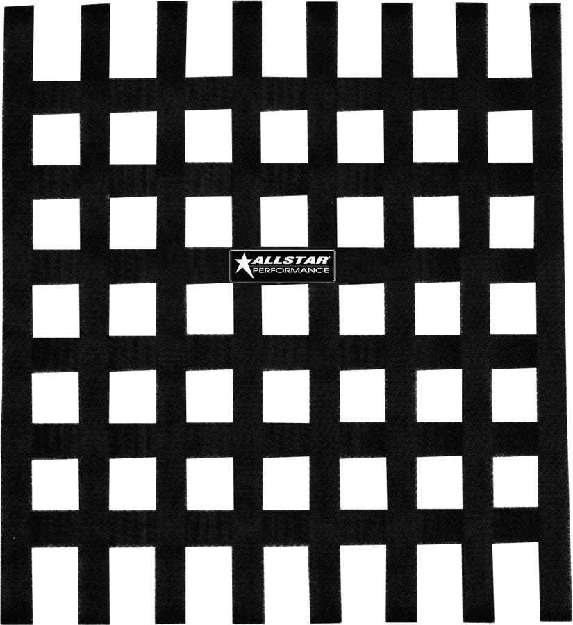 Allstar Performance Window Net Loop Style 18 x 18 SFI Black