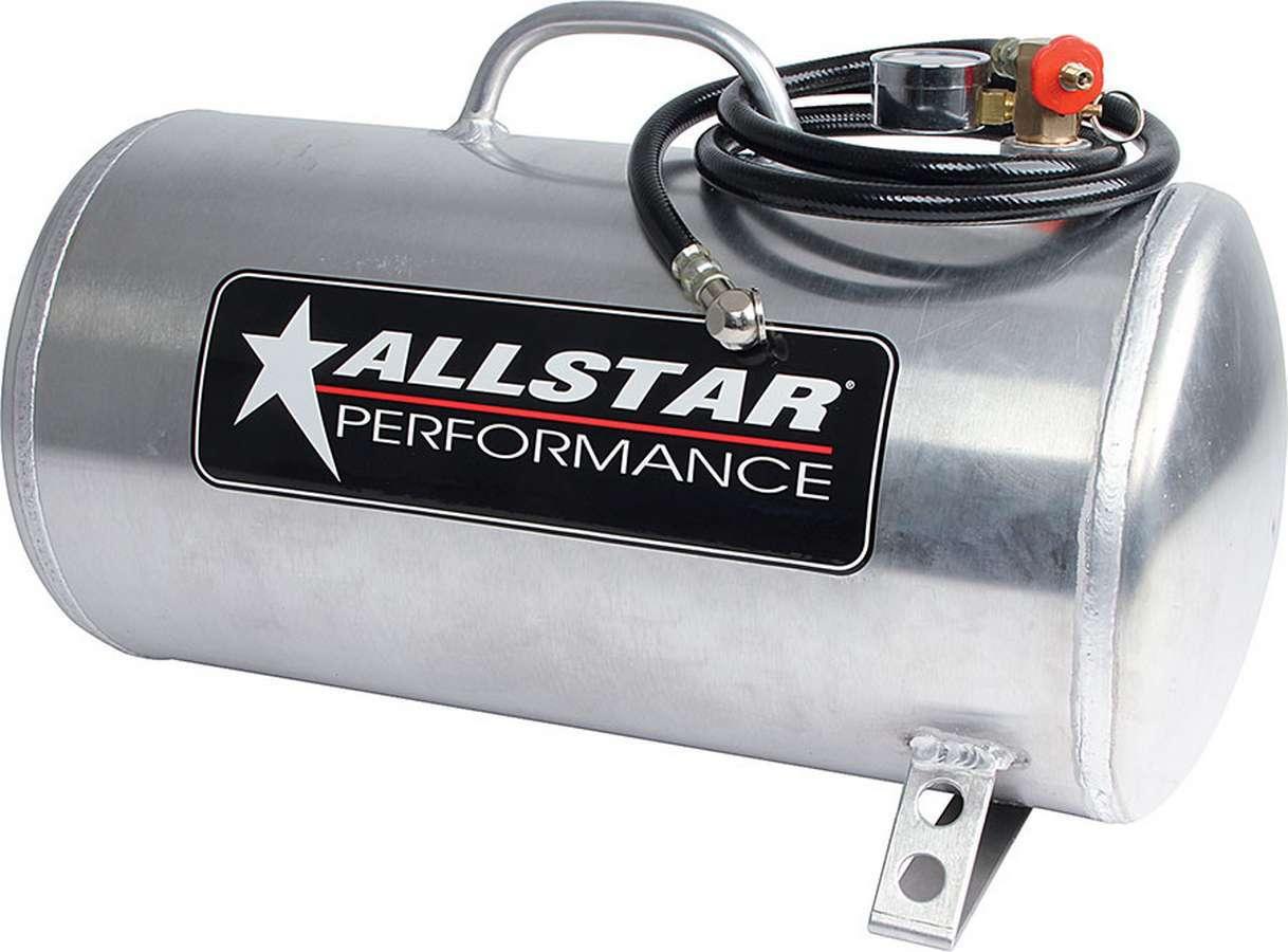Allstar Performance Aluminum Air Tank 9x20 Horizontal 5 Gallon