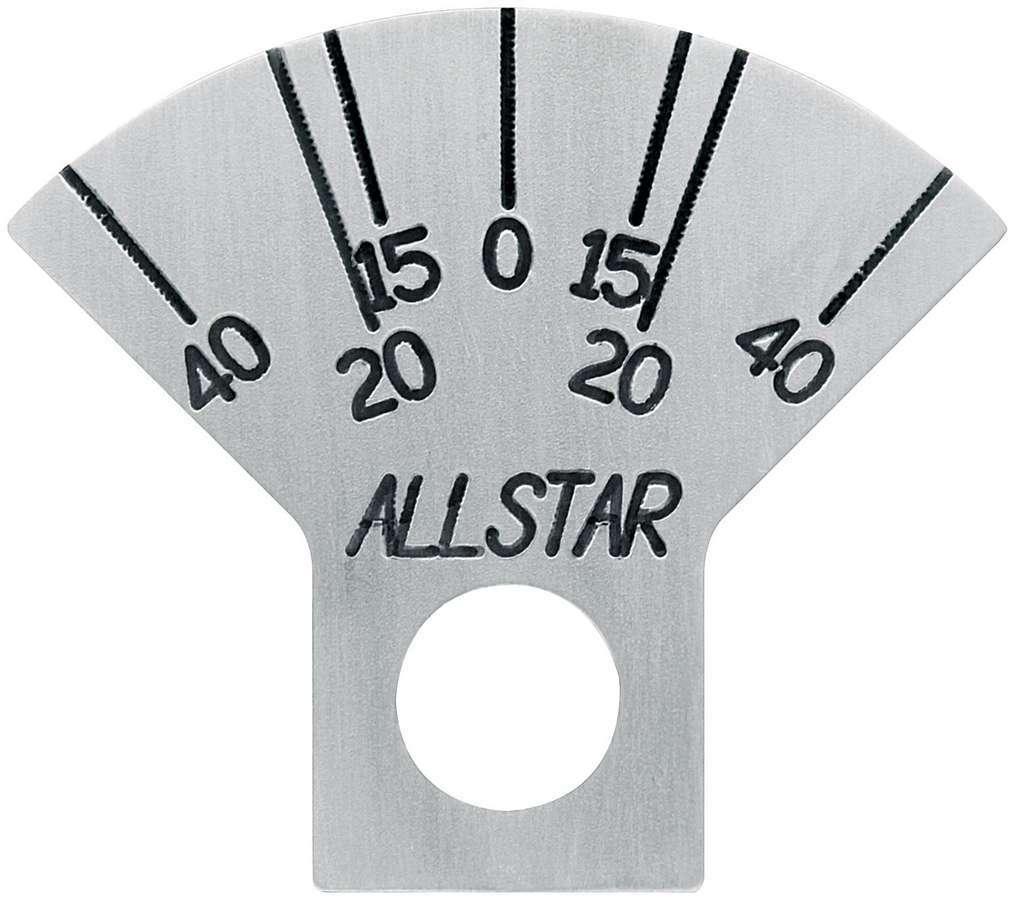 Allstar Performance Caster Plate