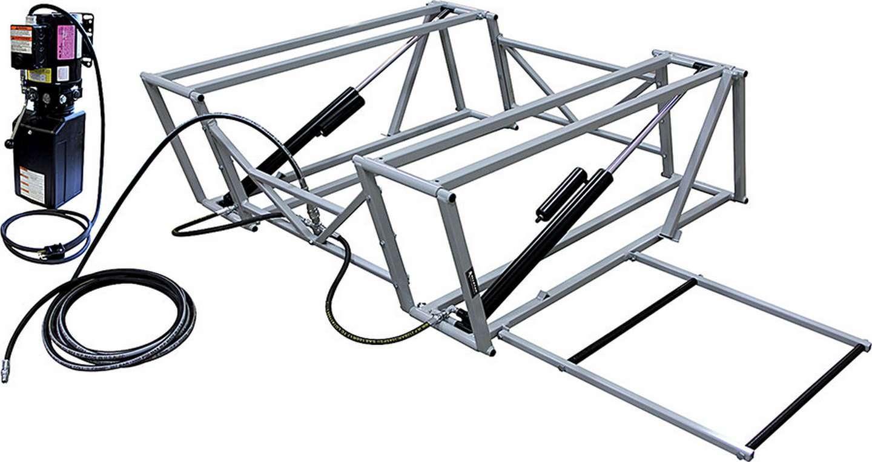 Allstar Performance Race Car Lift with Steel Frame
