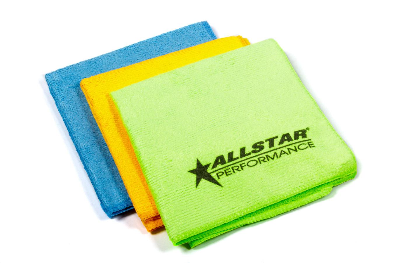 Allstar Performance Microfiber Towels 3pk 12in x 12in