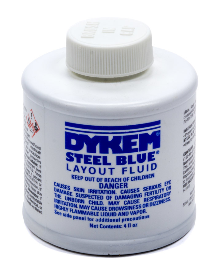 Allstar Performance Dykem Layout Fluid 4oz Brush in Cap