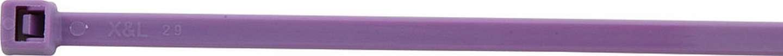 Allstar Performance Wire Ties Purple 7.25 100pk