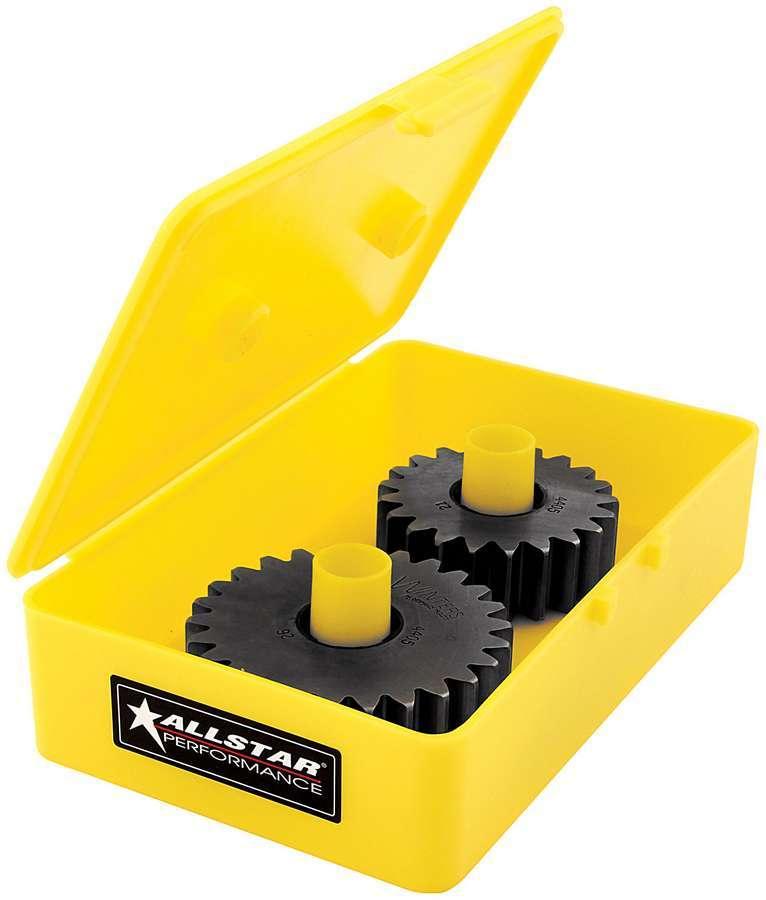 Allstar Performance QC Gear Tote Plastic Yellow Midget