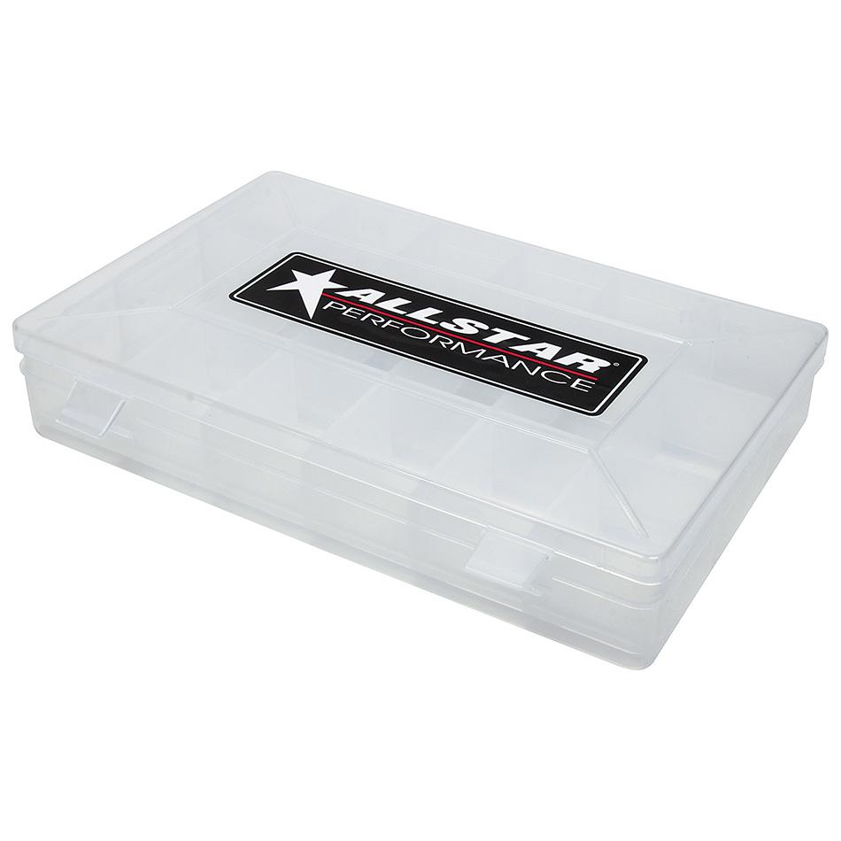 Allstar Performance Plastic Storage Case 18 Comp 11x7x1.75