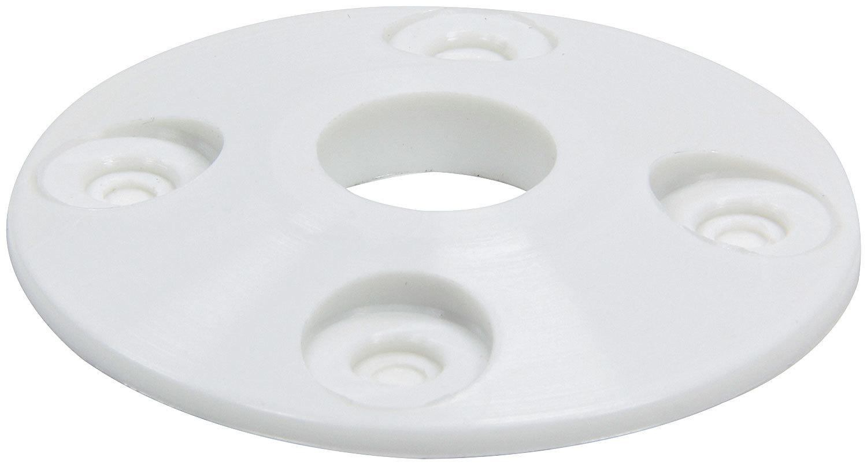 Allstar Performance Scuff Plate Plastic White 4pk