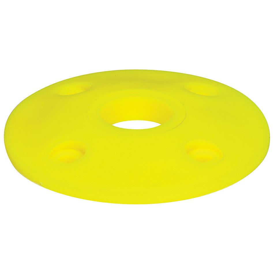 Allstar Performance Scuff Plate Plastic Fluorescent Yellow 25pk