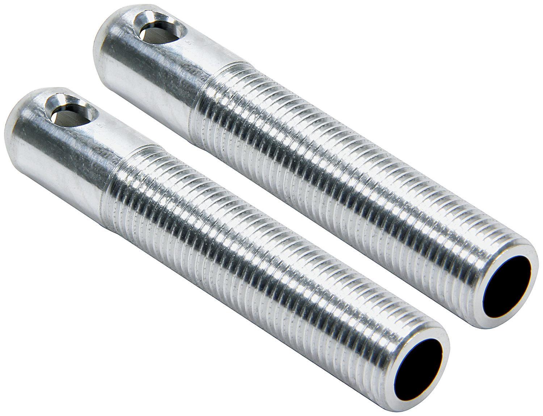 Allstar Performance Repl LW Alum Pins 1/2in Silver 2pk
