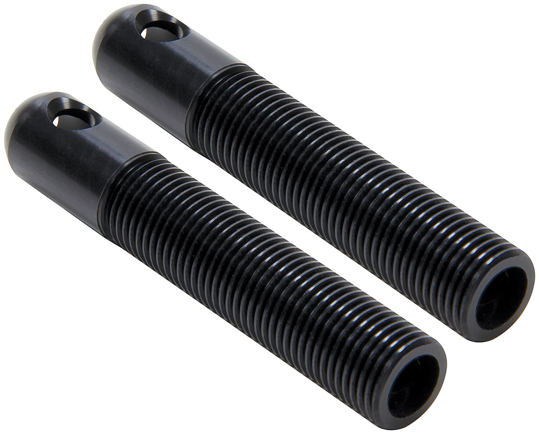 Allstar Performance Repl LW Alum Pins 1/2in Black 10pk