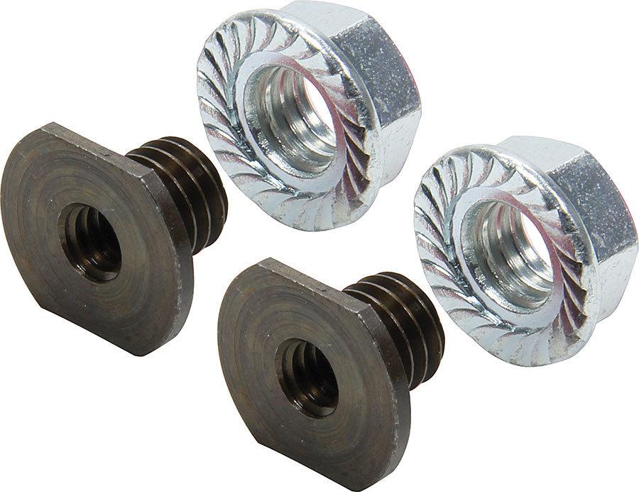 Allstar Performance Threaded Nut Insert Steel 10pk