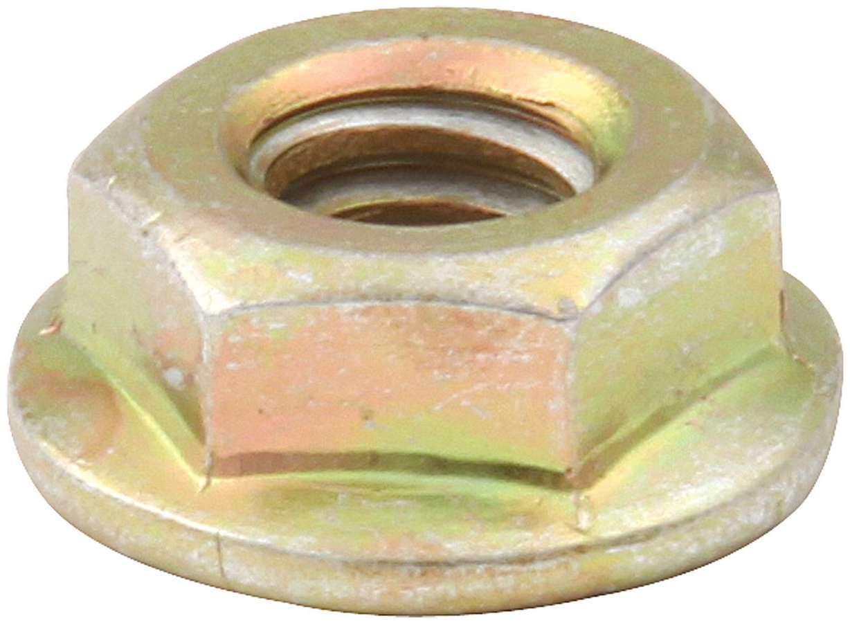 Allstar Performance Spin Lock Nuts 50pk Gold