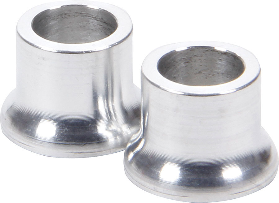 Allstar Performance Tapered Spacers Aluminum 3/8in ID 1/2in Long