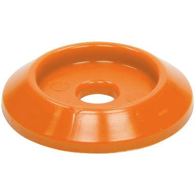 Allstar Performance Body Bolt Washer Plastic Orange 10pk