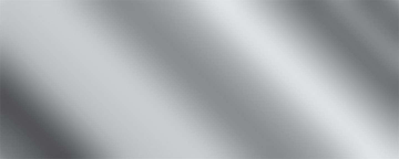 Allstar Performance Aluminum Chrome 4x10 Bright Clear
