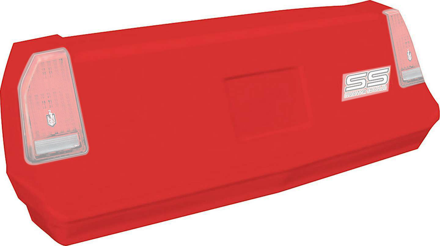 Allstar Performance Monte Carlo SS Tail Red 1983-88
