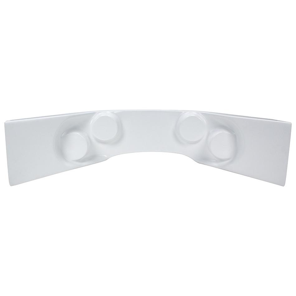 Allstar Performance Fiberglass Curved Dash Panel White