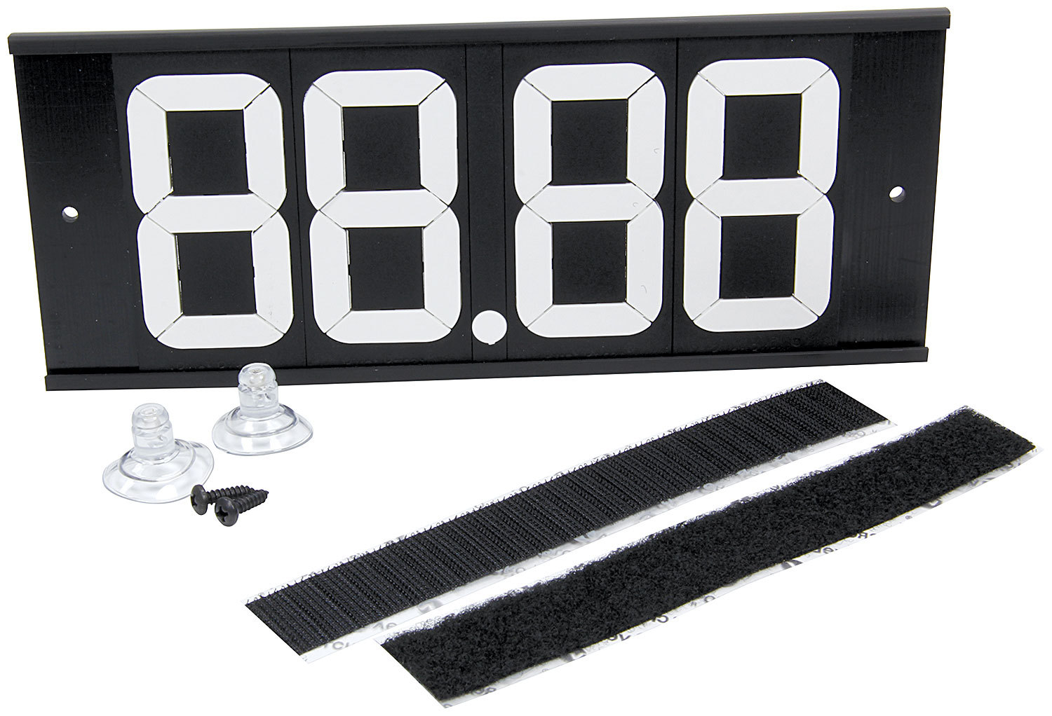 Allstar Performance Dial-In Board 4 Digit w/ Suction Cups and Velcro
