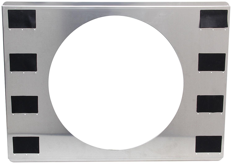 Allstar Performance Aluminum Fan Shroud 25-3/4x18-3/4 Single 16