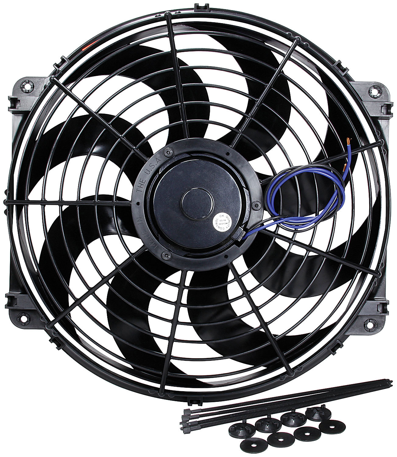 Allstar Performance Electric Fan 16in Curved Blade