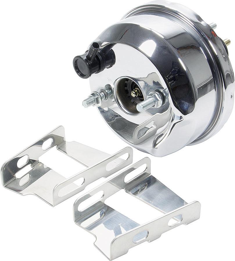 Allstar Performance Power Brake Booster 7in 55-64 GM Chrome