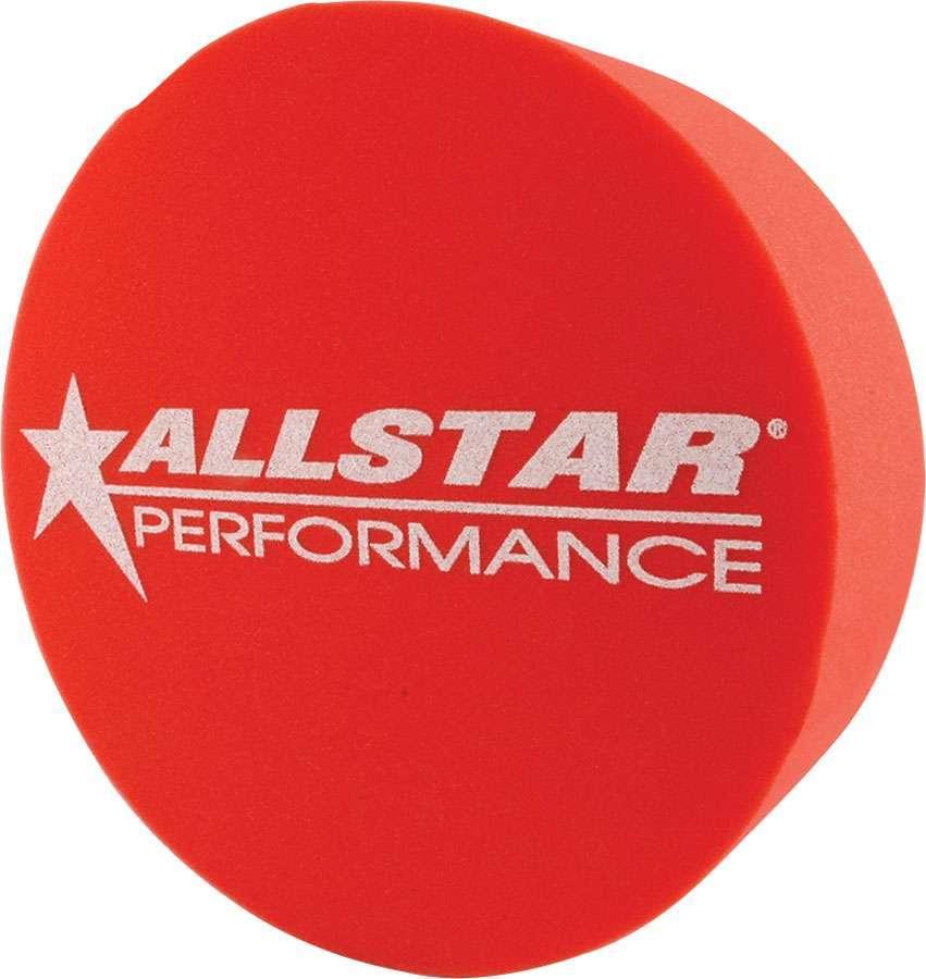 Allstar Performance Foam Mud Plug Red 5in