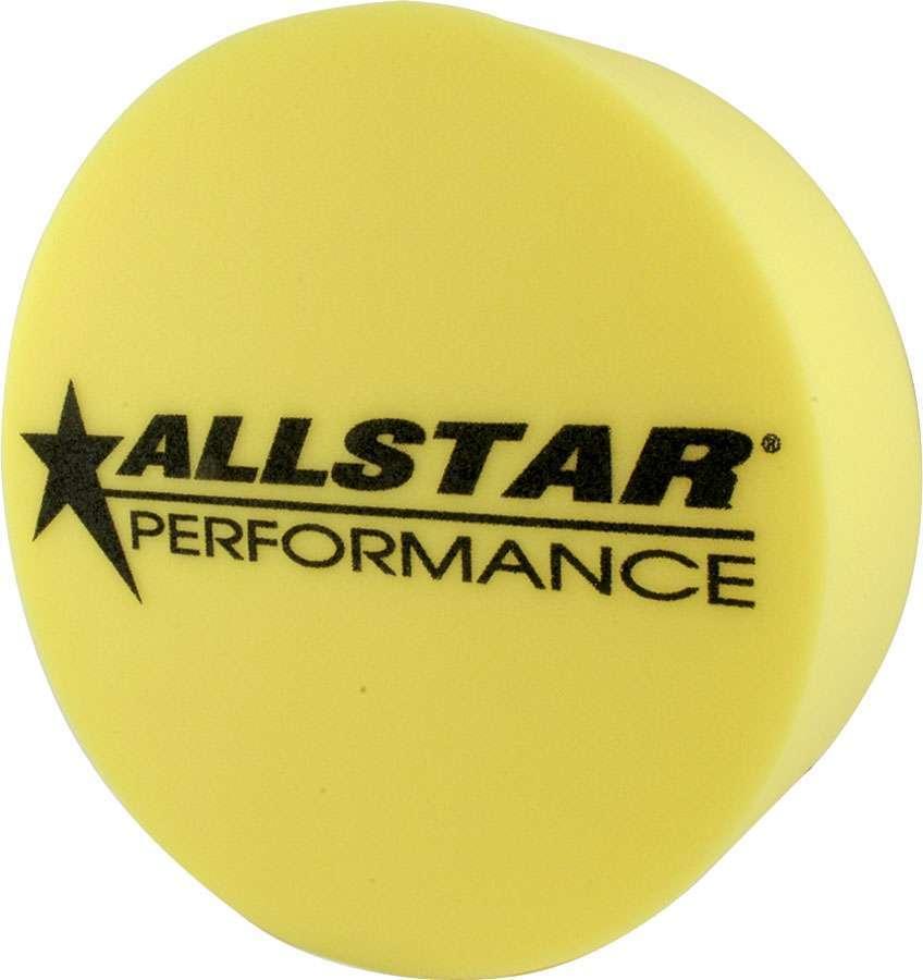 Allstar Performance Foam Mud Plug Yellow 5in