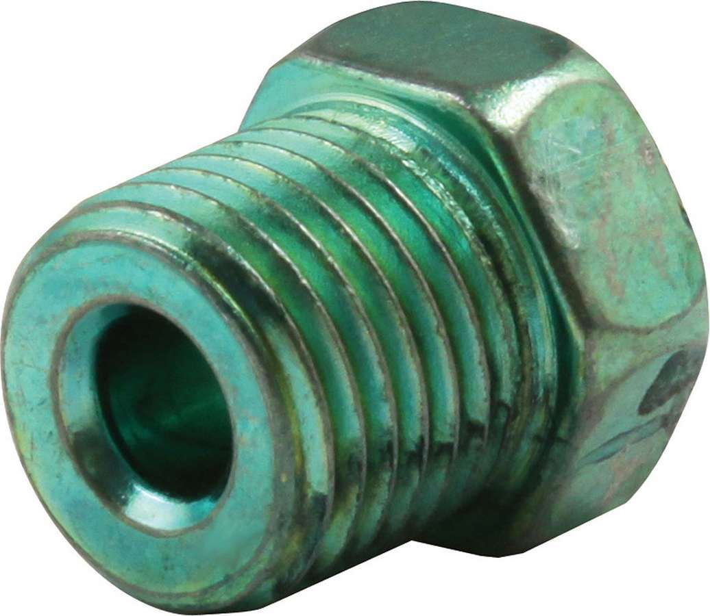 Allstar Performance Inverted Flare Nuts for 3/16in w/ 1/2-20 Green