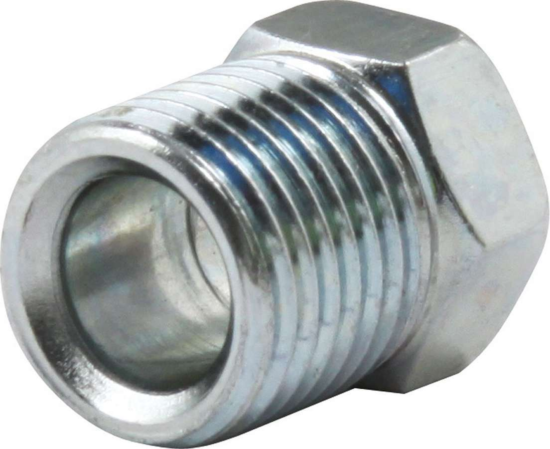 Allstar Performance Inverted Flare Nuts 1/4in Zinc 10pk