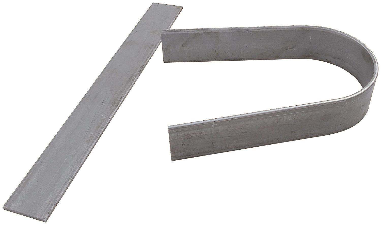 Allstar Performance Driveshaft Loop 3/16in Flat Steel Unwelded 2pcs