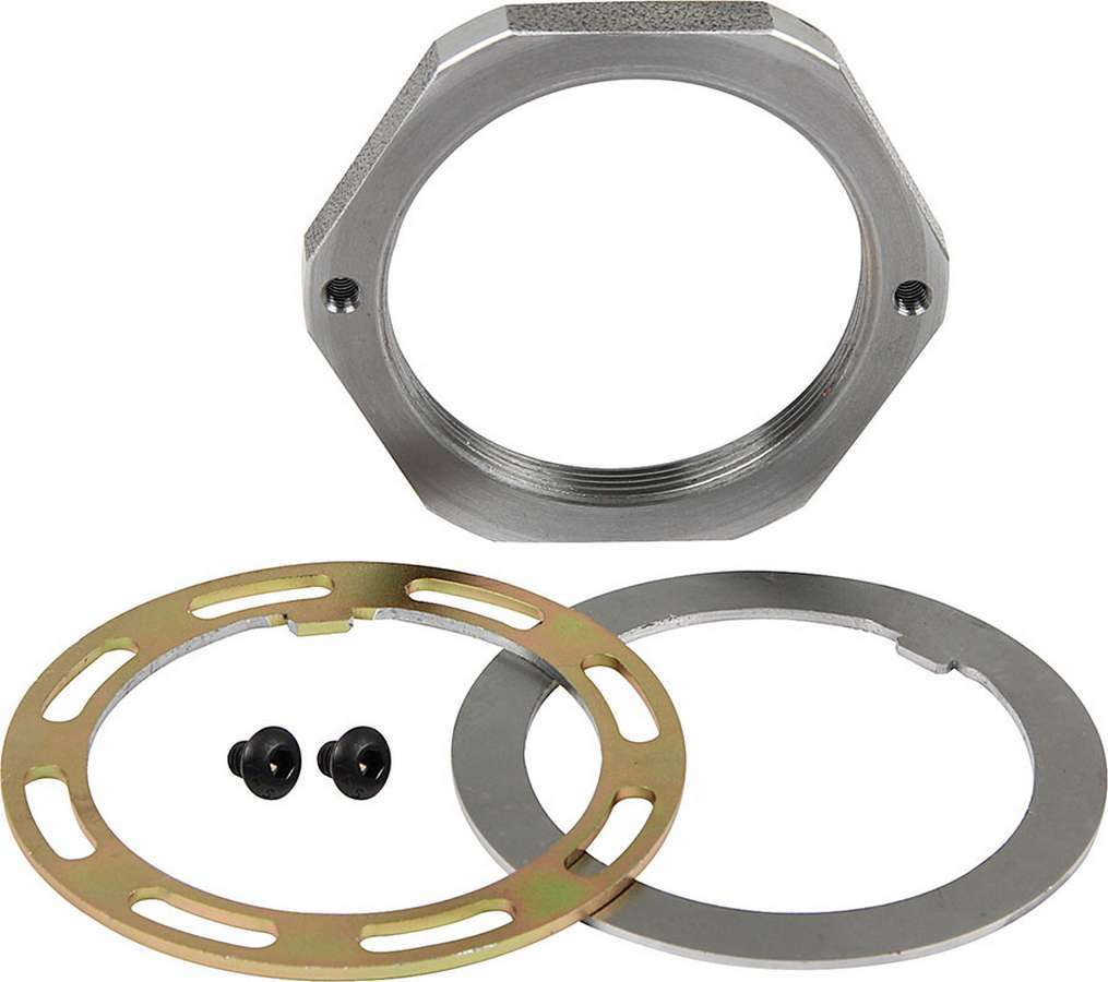 Allstar Performance Spindle Nut Kit 2.5 Pin Steel RH Thread