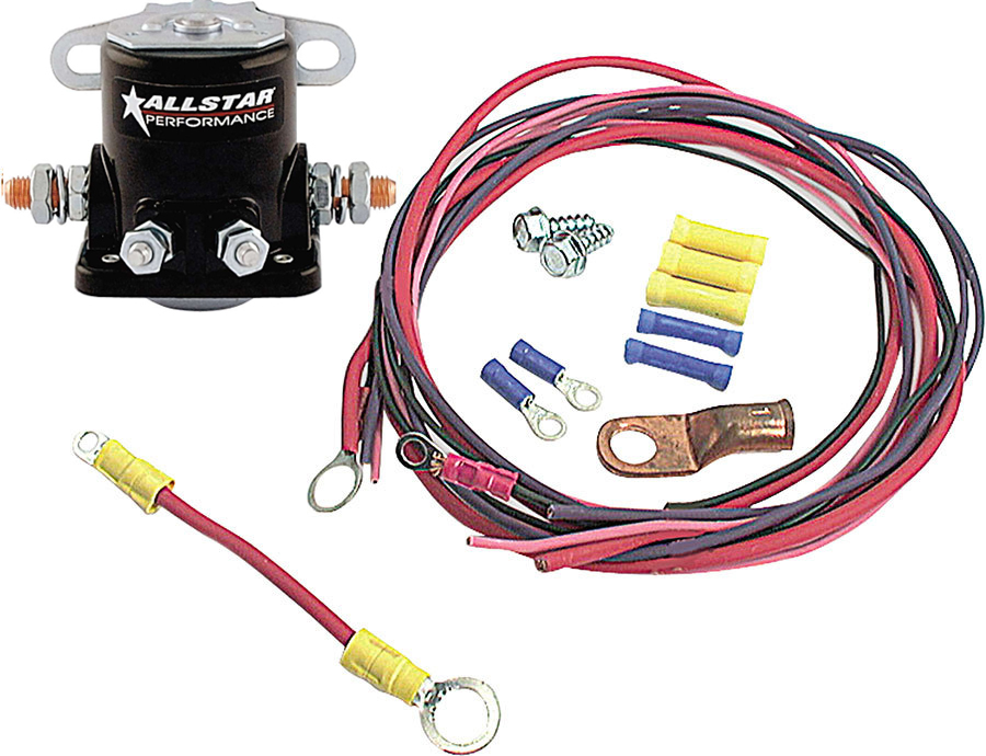 Allstar Performance Solenoid And Wiring Kit
