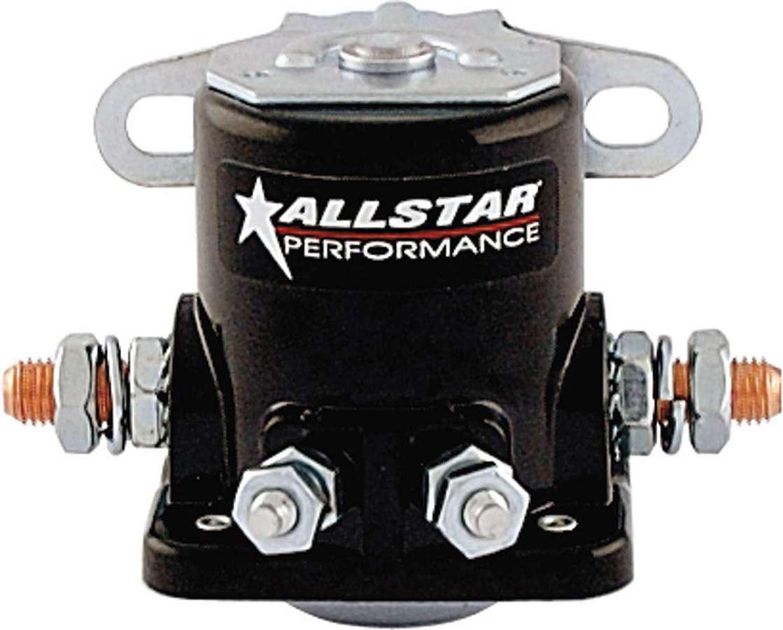 Allstar Performance Starter Solenoid Black