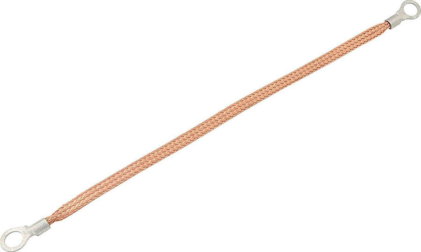 Allstar Performance Copper Ground Strap 12in w/ 1/4in Ring Terminals