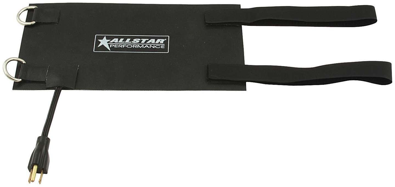 Allstar Performance Black Heating Pad 6x12 w/Straps