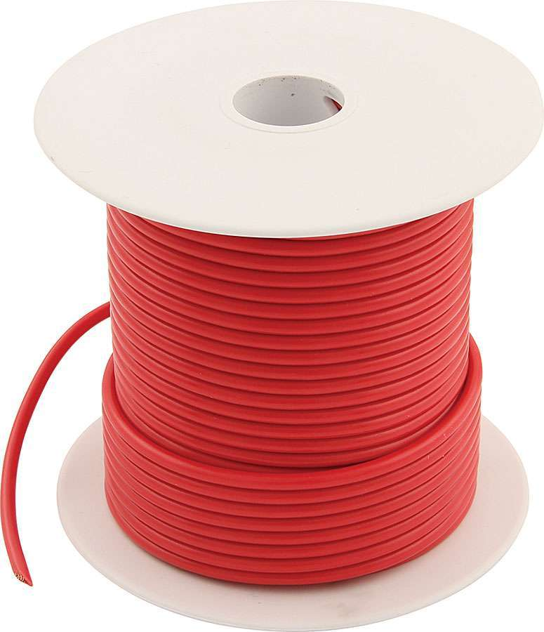 Allstar Performance 14 AWG Red Primary Wire 100ft