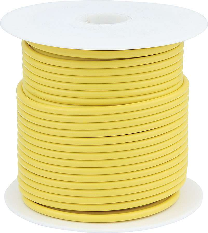 Allstar Performance 14 AWG Yellow Primary Wire 100ft