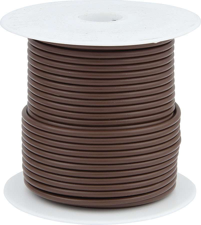 Allstar Performance 14 AWG Brown Primary Wire 100ft