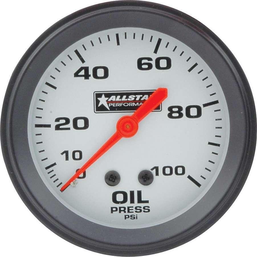 Allstar Performance ALL Oil Pressure Gauge 0-100PSI 2-5/8in