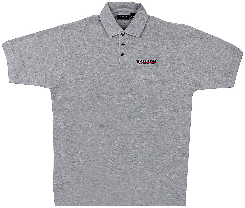 Allstar Performance Allstar Golf Shirt Dark Gray Large