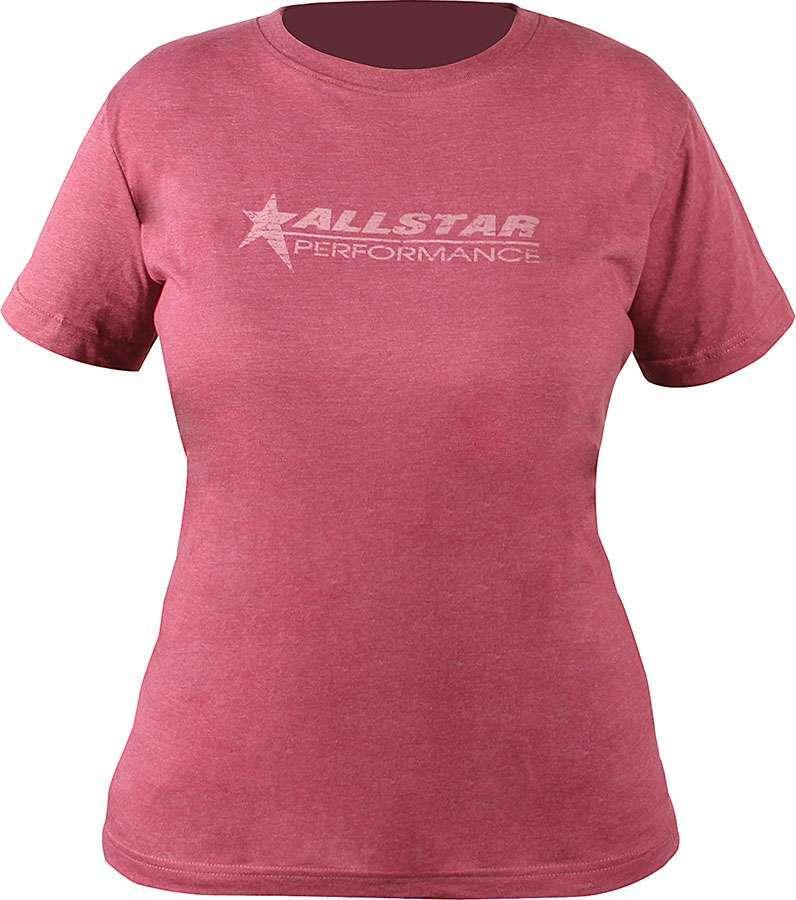 Allstar Performance Allstar T-Shirt Ladies Vintage Burgundy XX-Lg