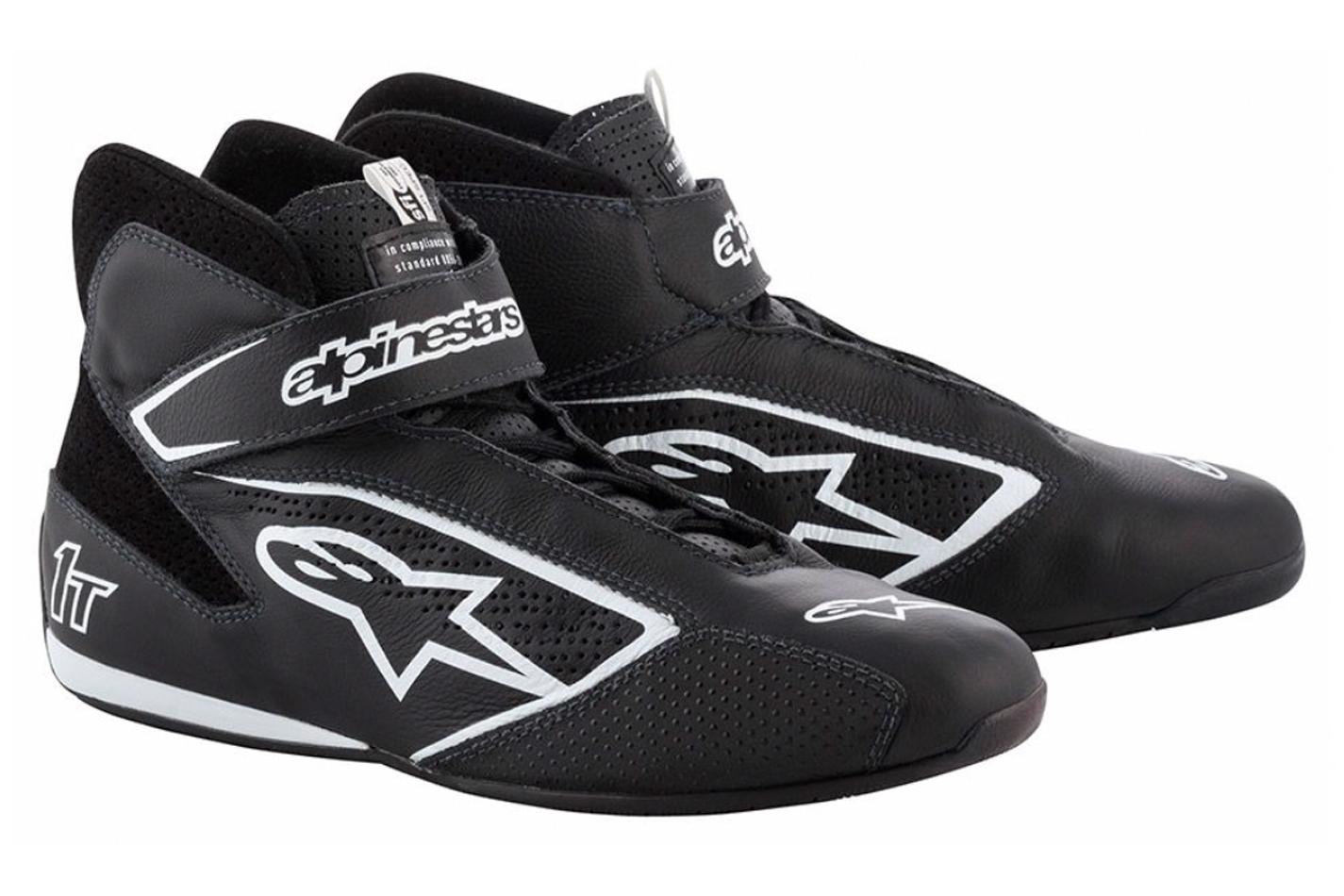 Alpinestars Usa Tech 1-T Shoe Black Size 8