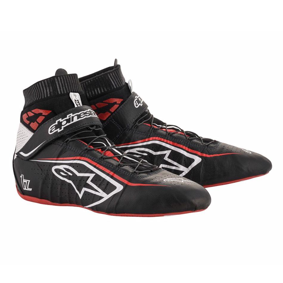 Alpinestars Usa Tech 1-Z Shoe Size 8.5 Black / Red