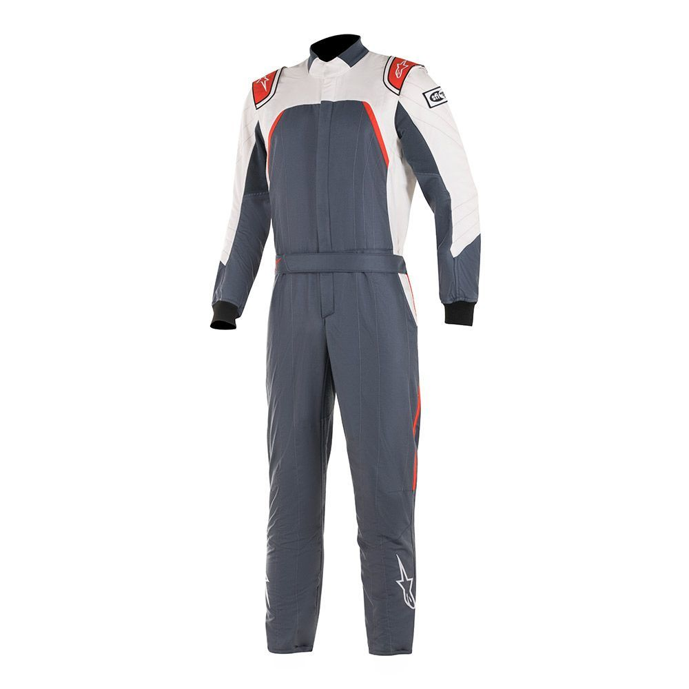 Alpinestars Usa GP Pro Suit X-Large Asphalt / White / Red