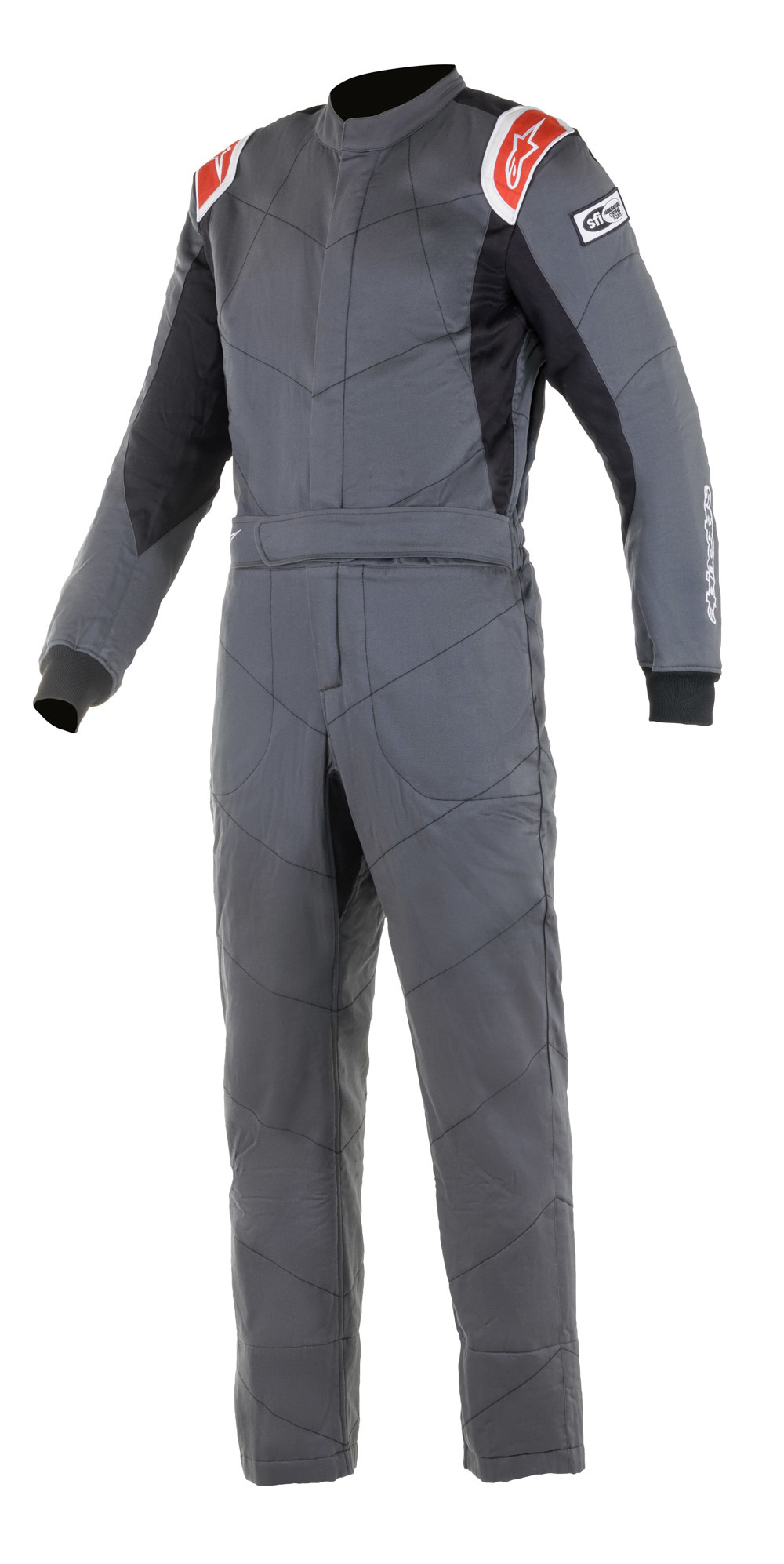 Alpinestars Usa Suit Knoxville V2 Grey / Red XX-Large / XXX-Large