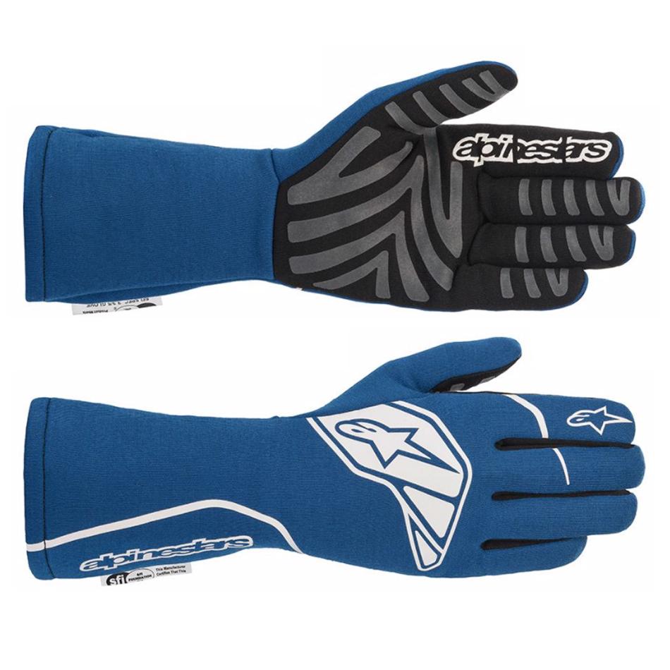 Alpinestars Usa Tech-1 Start Glove Small Blue / White