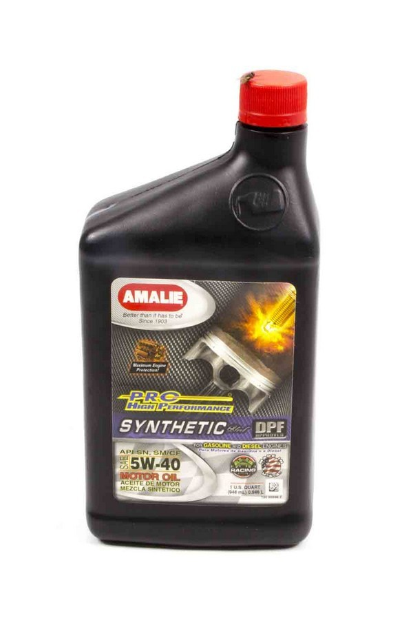 Amalie PRO HP Syn Blend 5w40 Oil 1Qt