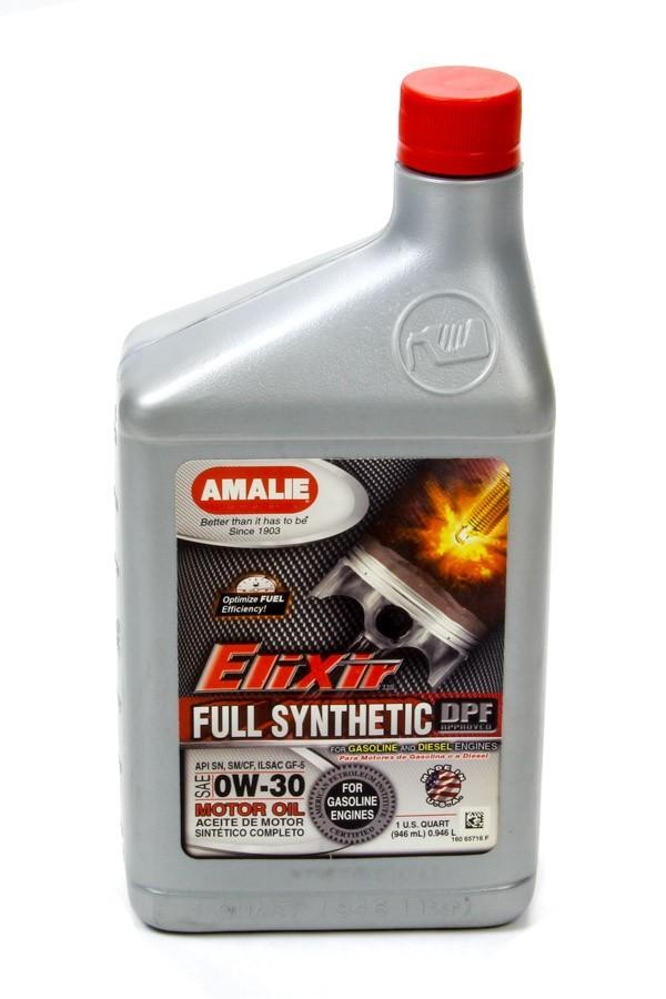 Amalie Elixir Full Synthetic 0w30 1 Quart