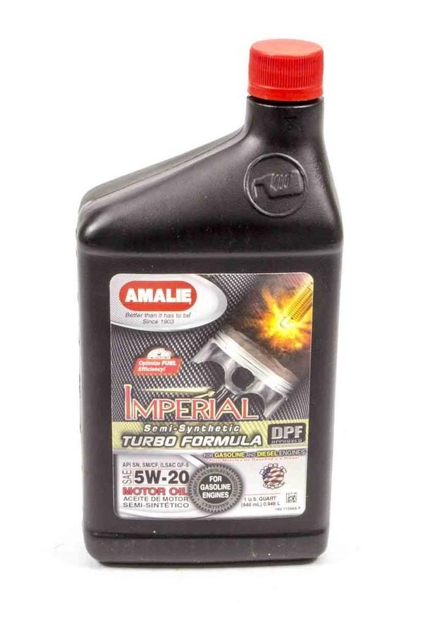 Amalie Imperial Turbo Formula 5w20 Oil 1Qt