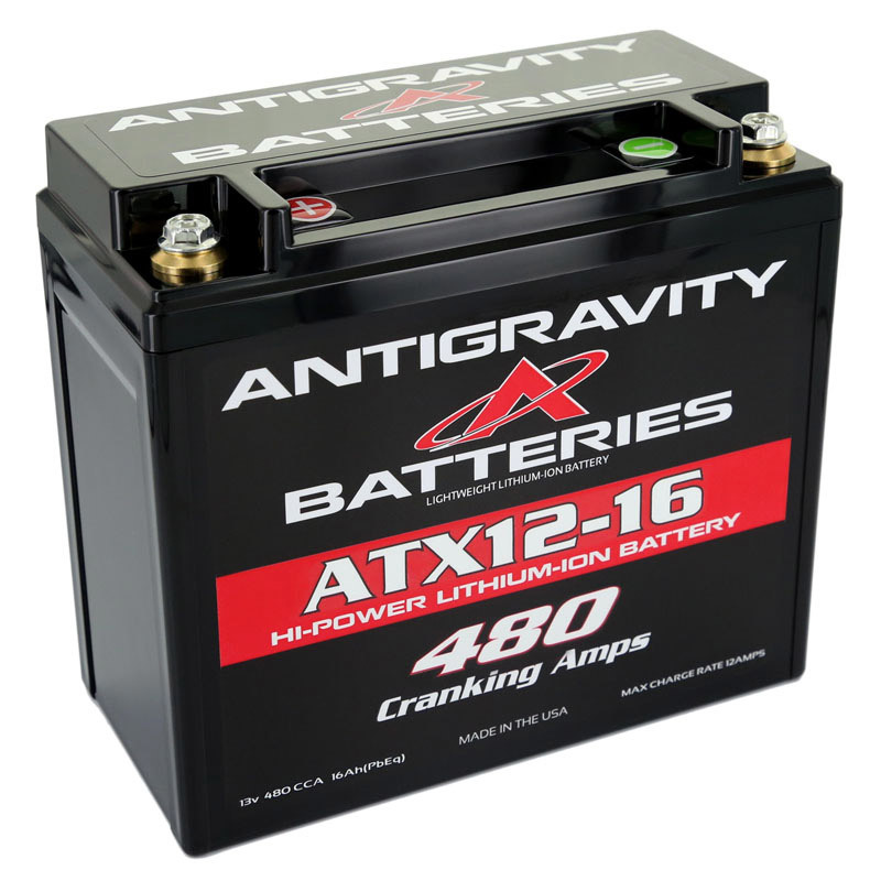 Antigravity Batteries Lithium Battery 480CCA 12Volt 3Lbs 16 Cell